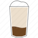 beverage, coffee, cup, drink, frappe, hot, morning icon