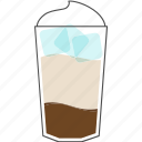 beverage, coffee, cup, drink, frappuccino, hot, morning icon