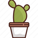 cactus, eco, flower, forest, green, nature, plant icon