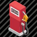 flow meter, fuel gauge, fuel meter, gas gauge, petrol meter icon