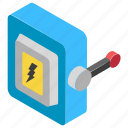 button, electric switch, push button, push switch, switch button icon