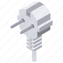 electric plug, parallel plug, plug, power plug, switch icon