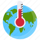 air pollution, climate change, global warming, greenhouse effect, warm climate icon