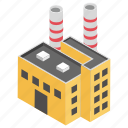 electric power, power generator, power house, power plant, power station icon