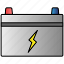 battery, eco, economic, energy, power icon