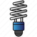 bulb, eco, economic, energy, power, saving icon
