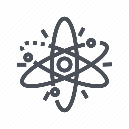 atom, charge, energy, power, science icon