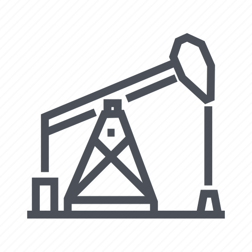 energy, industry, oil, pump, station icon