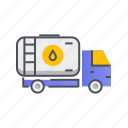 gas, gasoline, petrol, tank, transport icon