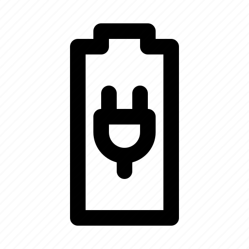 battery, electricity, energy, force, plug, power icon