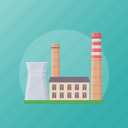 factory, manufacturing industry, mill, power plant, production plant