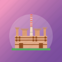 factory, mill, oil plant, oil refinery, petrochemical plant icon