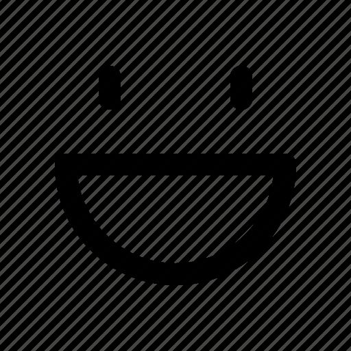 emoji, face, happy, mood, smile icon