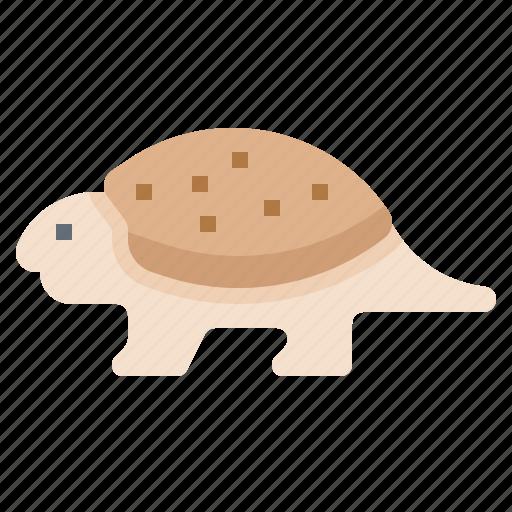 animal, dinosaur, glyptodont, prehistoric icon
