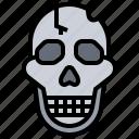 dead, die, skeleton, skull