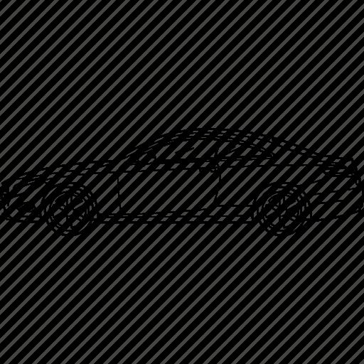 automobile, car, coupe, mercedes, mercedes benz, s, sportcar icon