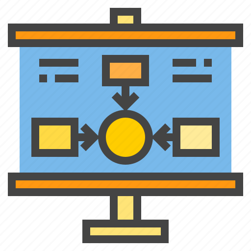 business, chart, infographic, presentaion, presentation, statistic icon
