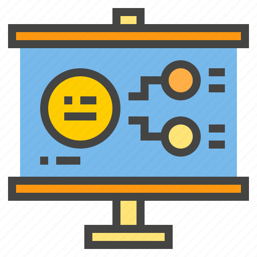 business, chart, model, presentaion, presentation, statistic icon