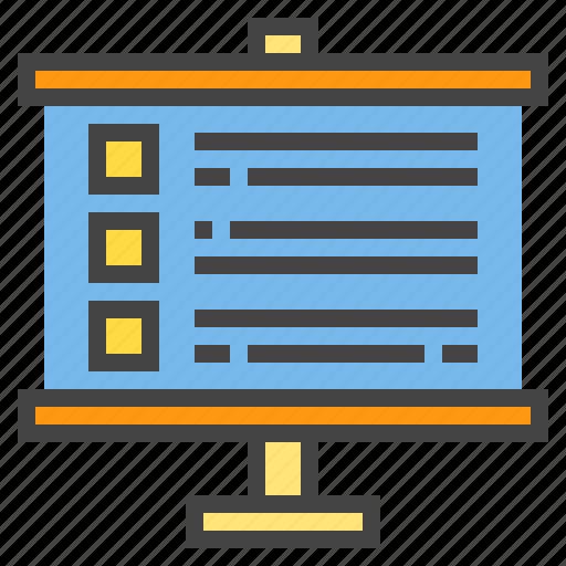 business, plan, presentaion, presentation icon