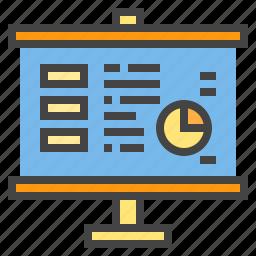 chart, graph, presentaion, report, statistic icon