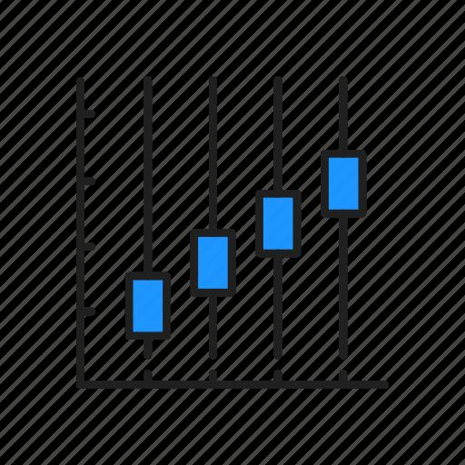 bar chart, chart, diagram, graph icon