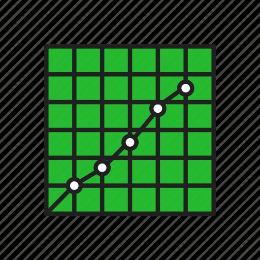 bar chart, chart, graph, growth icon