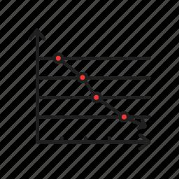 bar chart, chart, graph, line graph icon