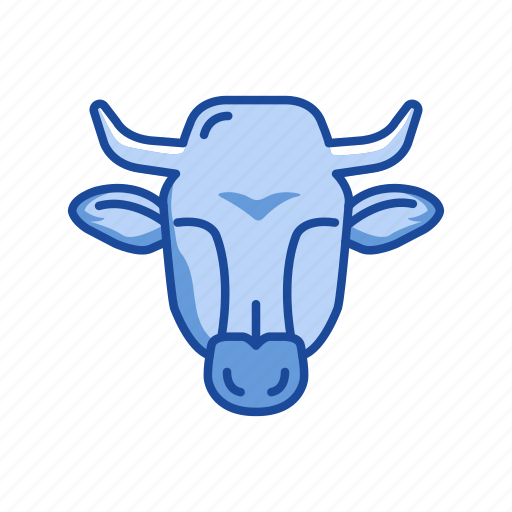 animal, bull, bull market, stock marketing icon