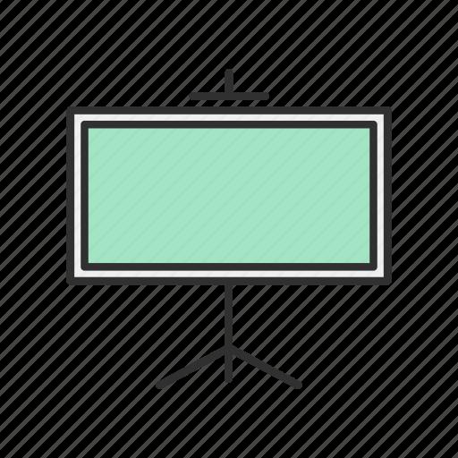 board, projector, screen, white board icon