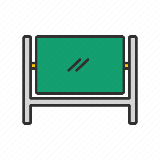 chalk board, screen, stand, white board icon