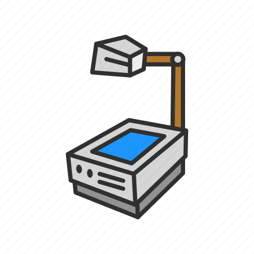 laminate projector, lecture, projector, screen icon