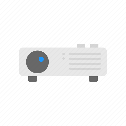 image projector, movie, projector, video projector icon