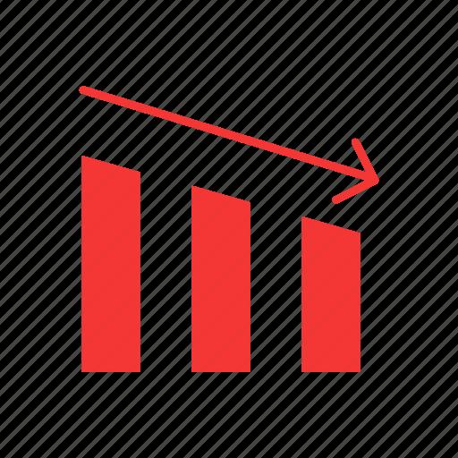 bar graph, data, marketing, statistic icon