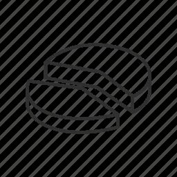 3d circle chart, 3d pie chart, analysis, business, circle chart, donut chart, pie chart icon