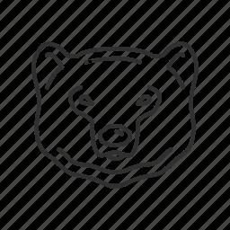 bear, bear market, down market, market, stock market, stocks icon