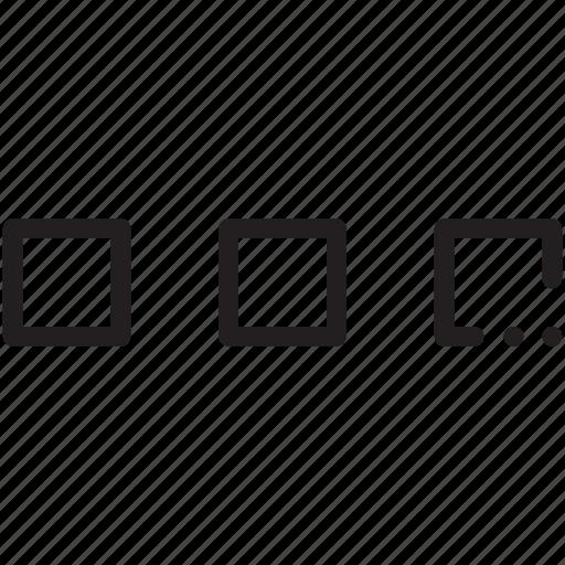 horizontal, marker, menu, nav, navigation, ui icon