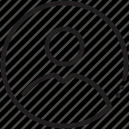 account, avatar, circle, human, male, pic, profile icon