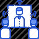 communication, meeting, presentation, teleconference