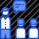 communication, conversation, meeting, presentation