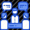 conference, confersation, meeting, presentation