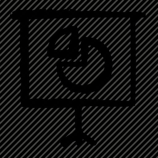 Canvas Chart Keynote Pie Powerpoint Presentation Speech Icon