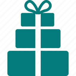 boxes, gifts, packages, presents, suprise icon