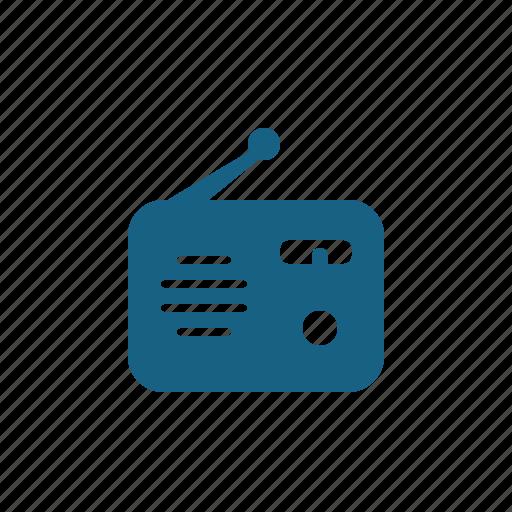 news, radio, technology icon