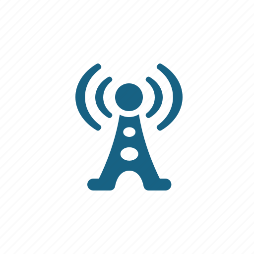Communication tower, radio tower, tower, wireless icon - Download on Iconfinder