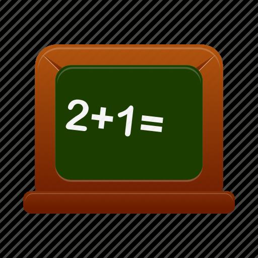 blackboard, education, learn, learning, school, study icon