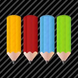 art, colorpencils, design, draw, drawing, pencil, pencils icon