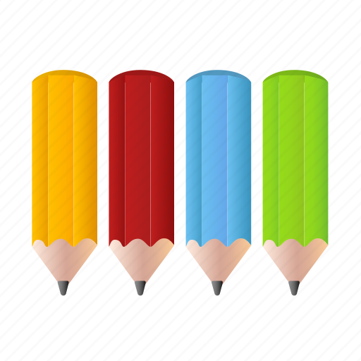 art, colorpencils, design, draw, drawing, pencil, pencils icon