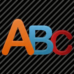 alphabet, letter, letters icon