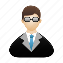 avatar, male, man, person, profile, teacher, user icon