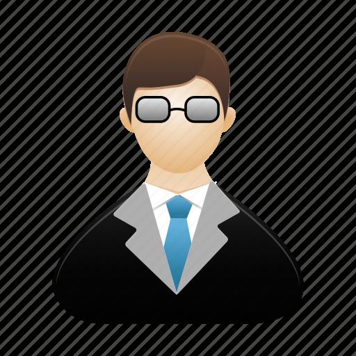 avatar, male, man, person, profile, teacher, user icon